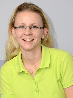 Therapiezentrum Benjamin Künzel - Team: Melanie Sremec, Physiotherapeutin